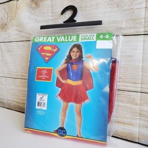 NWT DC Supergirl Costume S(4-6)